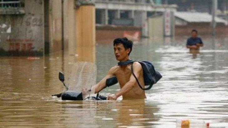 Қытайдың 8 миллионнан астам тұрғыны су тасқынынан зардап шекті
