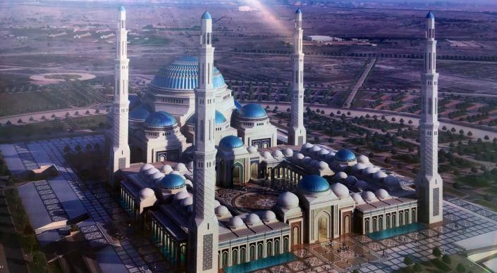 Астанада 30 мың адам сиятын мешіт салынып жатыр