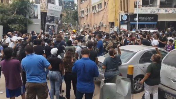 Бейрут тұрғындары ел билігіне талап қойды