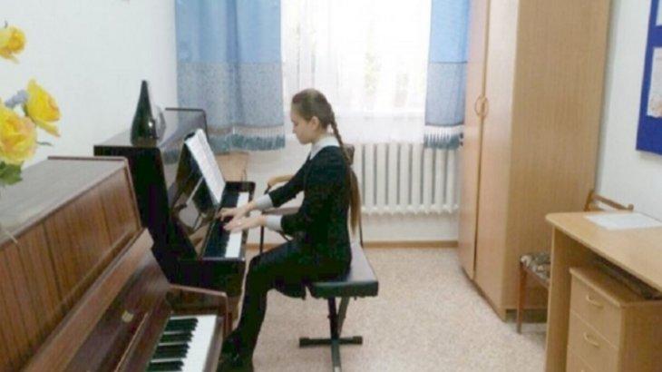 Алматыдағы №5 музыкалық мектеп қайта жөндеуден өтті