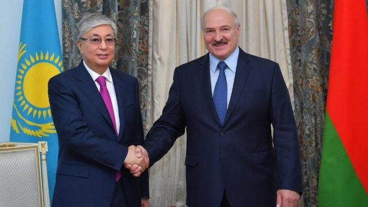 Тоқаев Лукашенконы президент сайлауындағы жеңісімен құттықтады