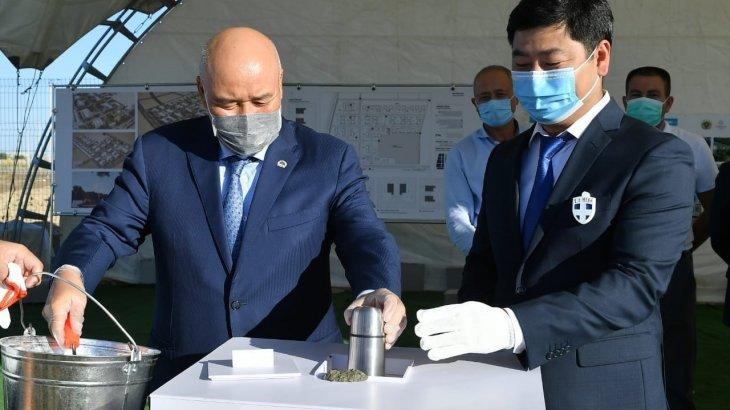 Өзбекстан Түркістанда тігін фабрикасын ашып, тұрмысы төмен адамдарды жұмысқа алмақ