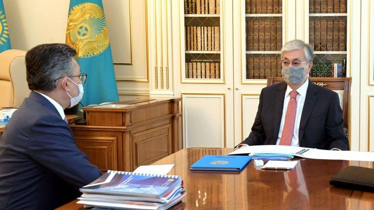 Тоқаев Сауда және интеграция министрін қабылдады