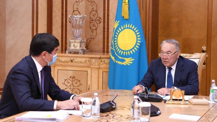 Назарбаев Бауыржан Байбекті қабылдады