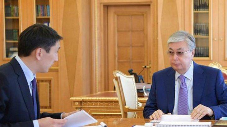 Экология министрі Тоқаевқа есеп берді