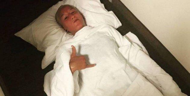 Мария Агапова ауыр нокаутқа түсіп, ауруханаға зембілмен жеткізілді (ВИДЕО)