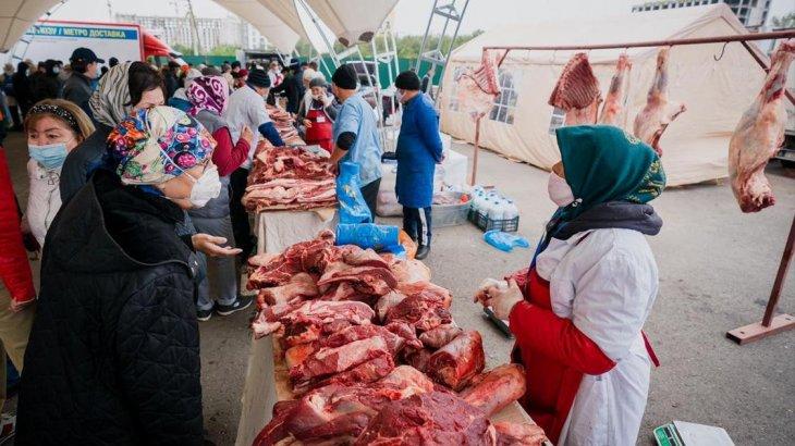 Бүгін Нұр-Сұлтанда ауыл шаруашылығы жәрмеңкесін Түркістан, Алматы облыстары бастады