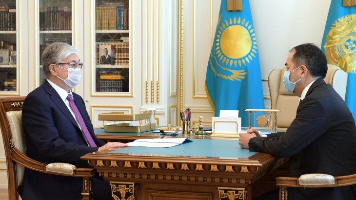 Сағынтаев президентке Алматыдағы эпидемиологиялық жағдай туралы баяндады