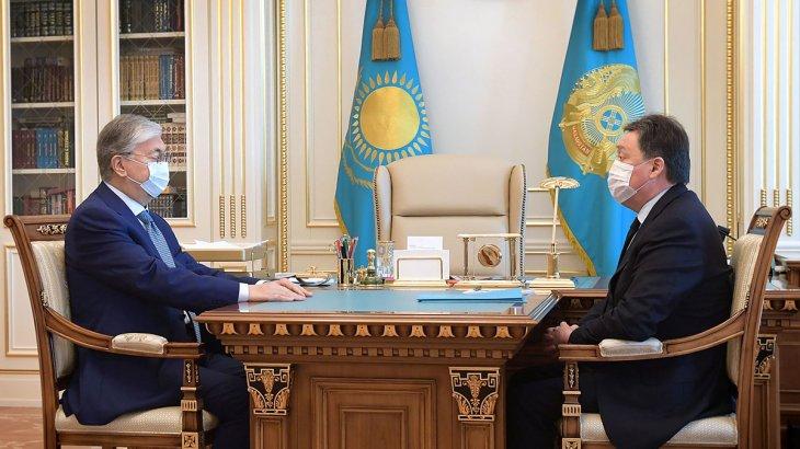 Тоқаев Үкімет басшысын қабылдады