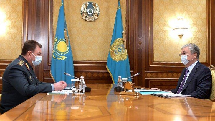 Мемлекет басшысы төтенше жағдайлар министрін қабылдады