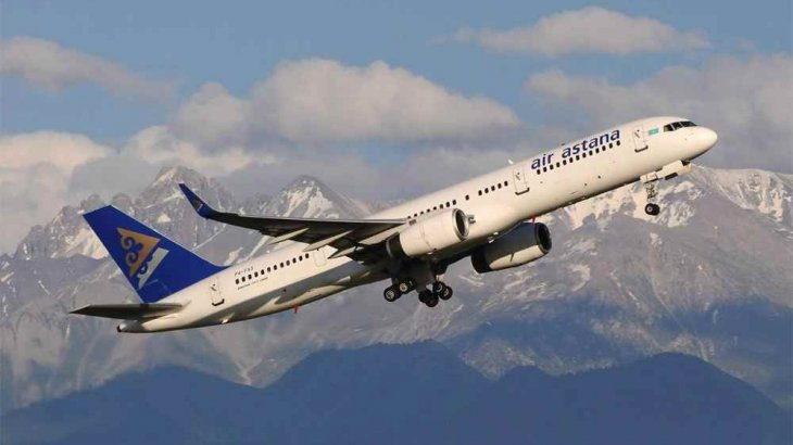 Air Astana ұшағы шұғыл түрде Шымкентке қонуға мәжбүр болды