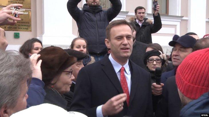 Навальный өзіне «у бергендердің» артында Путин тұрғанын мәлімдеді