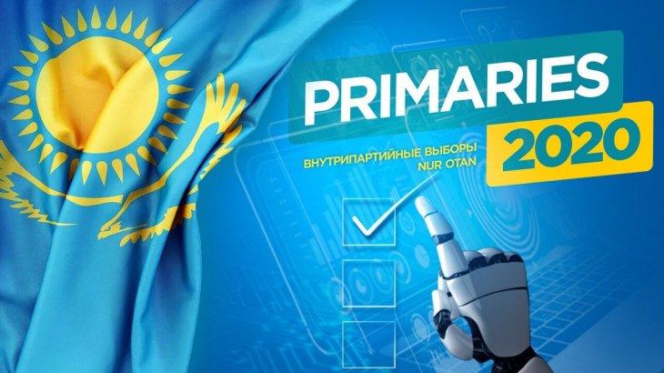 Елордада праймеризге қатысушы 3 кандидат тіркеуден шығып қалды