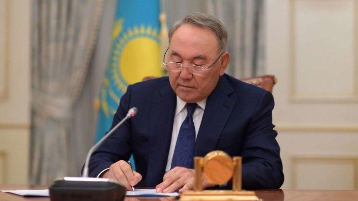 Назарбаев Трампқа жеделхат жолдады