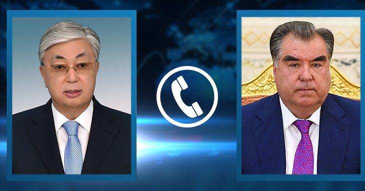 Тоқаев Тәжікстан президентімен телефон арқылы сөйлесті