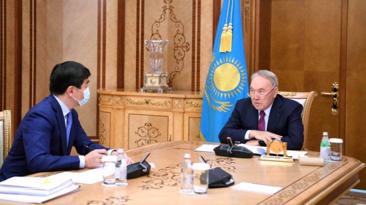 Назарбаев Байбекті қабылдады