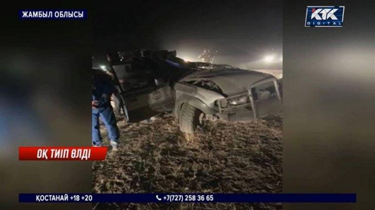 Арнайы операция кезінде 2 жамбылдық полицей қаза тапты