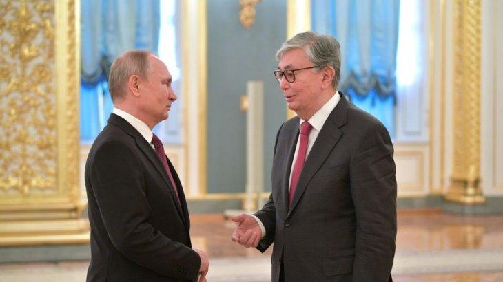 Тоқаев пен Путин Көкшетауда кездесетін болды