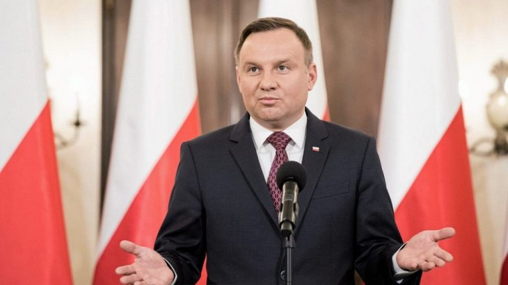 Польша президенті коронавирус жұқтырды