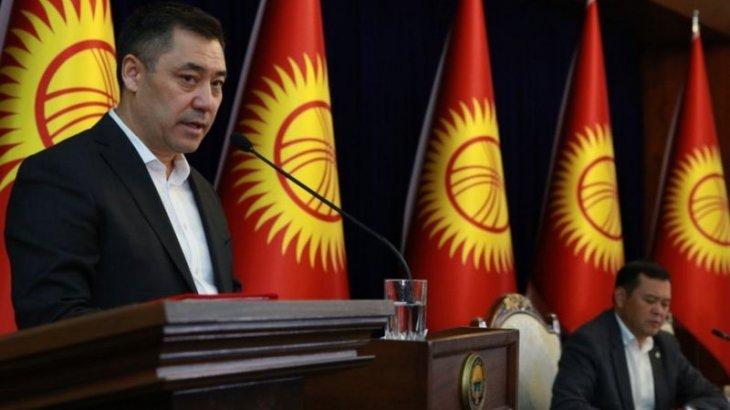Қырғызстанның уақытша президенті Садыр Жапаров отставкаға кететінін мәлімдеді