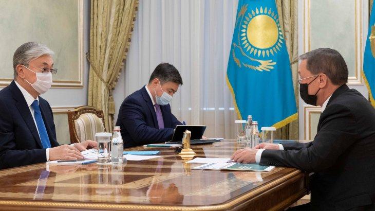 Тоқаев Ауыл шаруашылығы министрін қабылдады