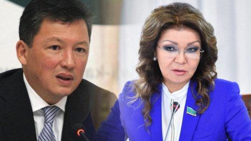 Тимур Құлыбаев пен Дариға Назарбаеваның есепшоттары бұғатталды