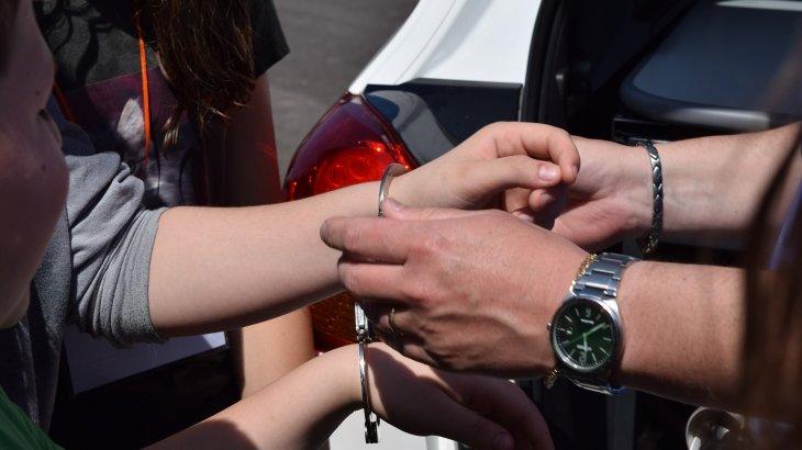 Полиция қоғамдық тәртіпті бұзған екі шетел азаматын ұстады