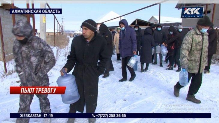 Алматы облысында суға зәру ауыл қар ерітіп ішуде