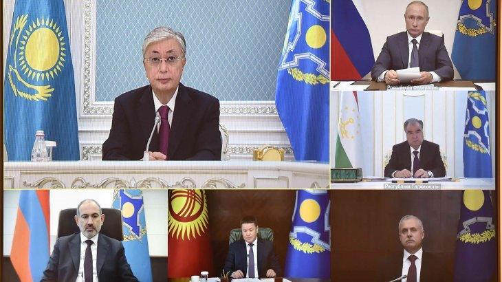 Президент Ұжымдық қауіпсіздік кеңесінің сессиясына қатысты