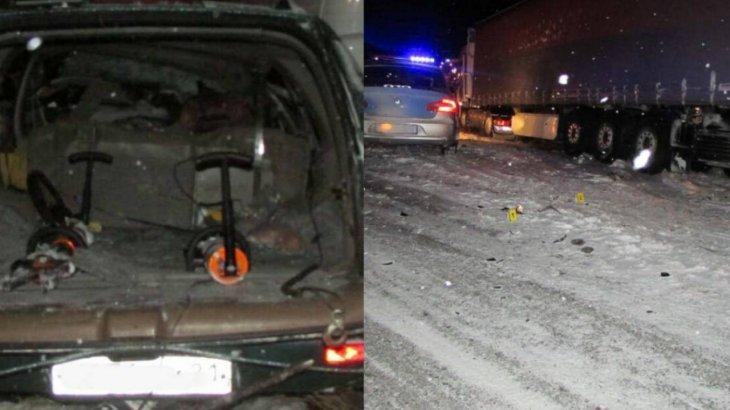 Ақмола облысында жантүршігерлік жол апаты болып, үш адам көз жұмды