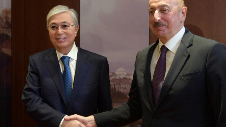 Тоқаев Әзербайжан президентін туған күнімен құттықтады