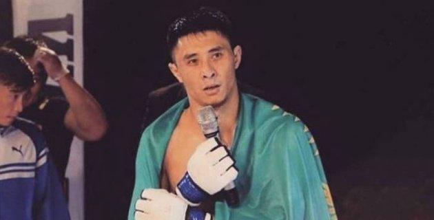 Қазақ спортшысы қырғызстандық қарсыласын ауыр нокаутқа түсірді