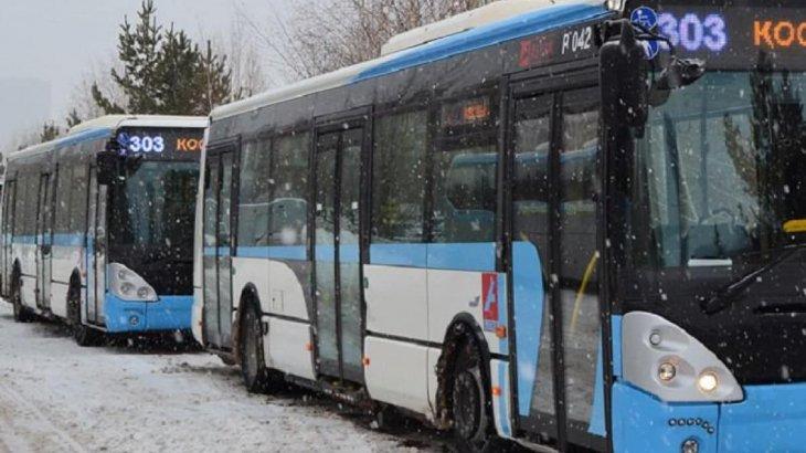 Астанада қала маңына қатынайтын автобустар тоқтатылады