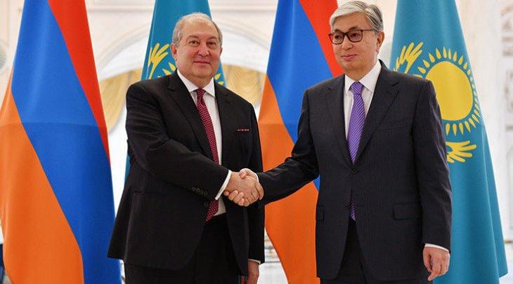 Тоқаев коронавирустың жаңа түрін жұқтырған Армения президентіне сауығып кетуін тіледі