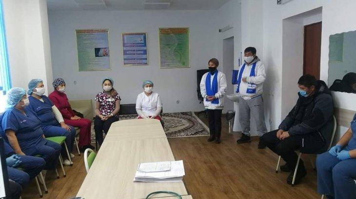 Азаматтардың денсаулығы – «Nur Otan» партиясының негізгі басымдықтарының бірі
