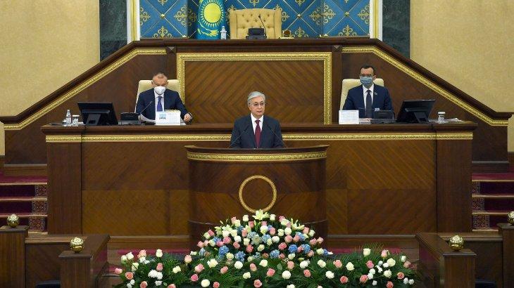 «Парламенттің алдында маңызды екі міндет тұр» – Тоқаев