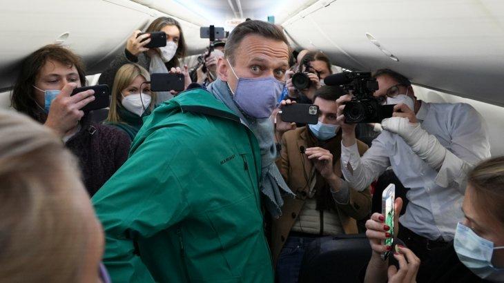 Алексей Навальный қамауға алынды
