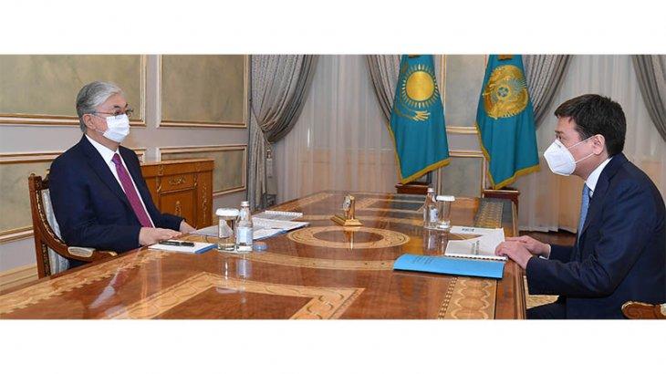 Тоқаев Әділет министрін қабылдады