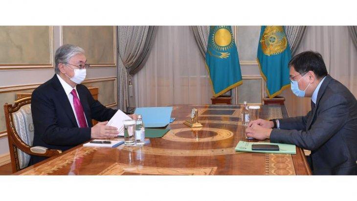 Тоқаев Ұлттық банк төрағасын қабылдады