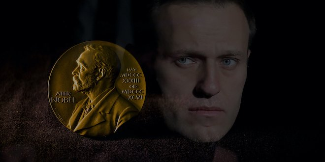 Навальный Нобель сыйлығына ұсынылды