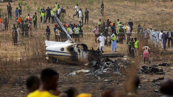 Нигерияда әскери ұшақ апатқа ұшырап, 7 адам қаза тапты
