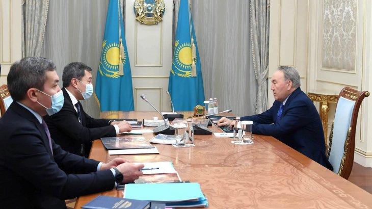 Назарбаев Ақан Сатаевты қабылдады