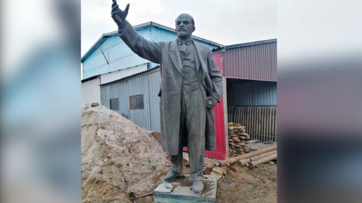 Петропавл тұрғыны Ленин ескерткішін 9 млн теңгеге сатпақшы