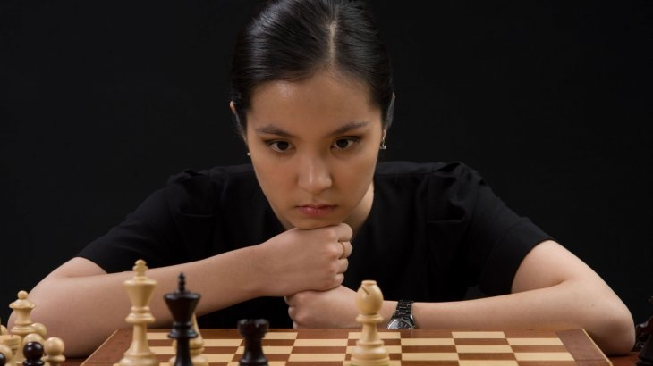 Динара Сәдуақасова интернеттің нашарлығынан халықаралық шахмат турнирінен шығып қалды