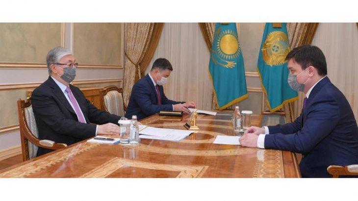 Тоқаев Ұлттық экономика министрін қабылдады