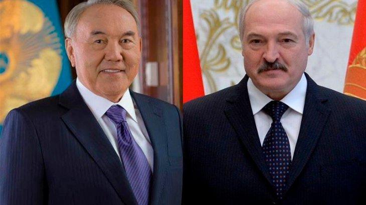 Назарбаев пен Лукашенко телефон арқылы сөйлесті