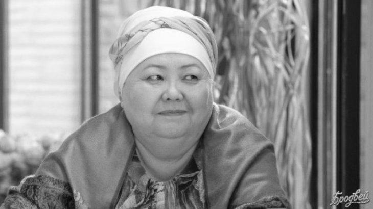 Қазақстанның еңбек сіңірген әртісі Ғазиза Әбдінәбиева өмірден өтті