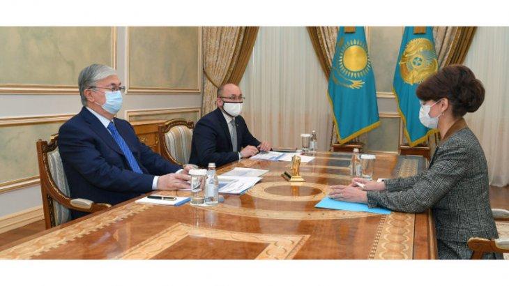 Президент Аида Балаеваны қабылдады