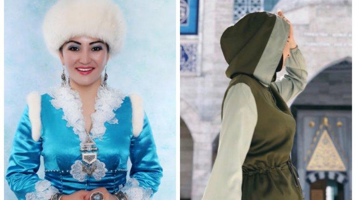 «Өзге ұлттың мәдениетіне құл болғандар»: Айгүл Елшібаева хиджабты ұлттық киім атауына қосатындар туралы ойын айтты