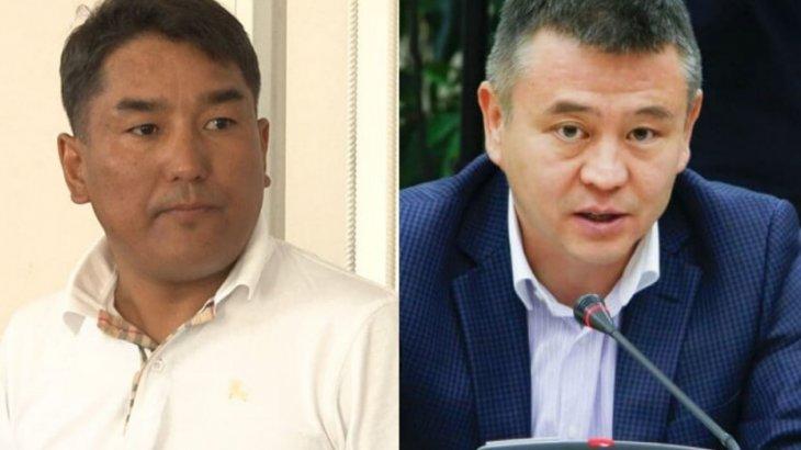 «Жап аузыңды!»: Мұхтар Тайжан мен Алмасбек Садырбаев сөзге келіп қалды (ВИДЕО)